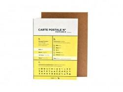 Card - Civil servant - Papier Tigre