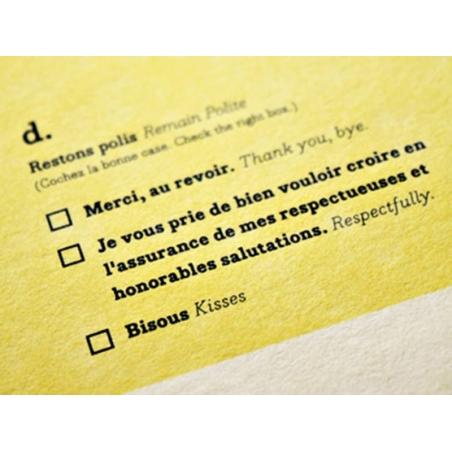 Carte Fonctionnaire - Papier Tigre Papier Tigre - 2