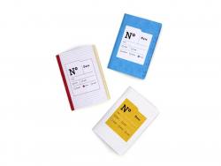 3 carnets Les diagonales - Papier Tigre