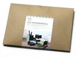 """6 boîtes à plier """" Les intendantes """" - Papier Tigre Papier Tigre - 3"""