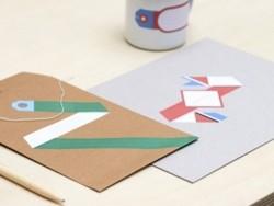 40 étiquettes à composer - Papier Tigre