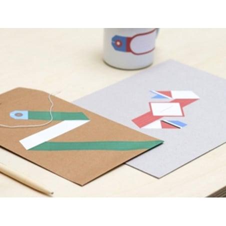 40 étiquettes à composer - Papier Tigre Papier Tigre - 2