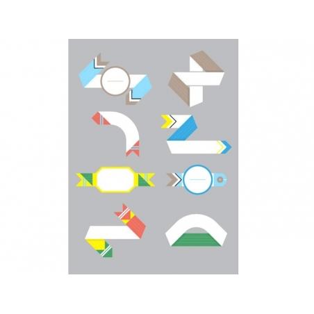 40 étiquettes à composer - Papier Tigre Papier Tigre - 3