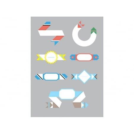 40 étiquettes à composer - Papier Tigre Papier Tigre - 4