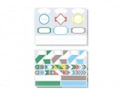 40 étiquettes à composer - Papier Tigre Papier Tigre - 6