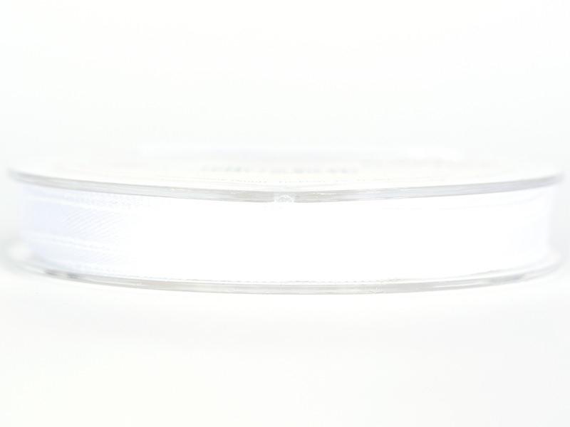 Satin ribbon (7 mm) - white
