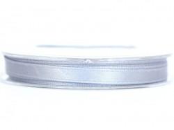 Satin ribbon (7 mm) - grey