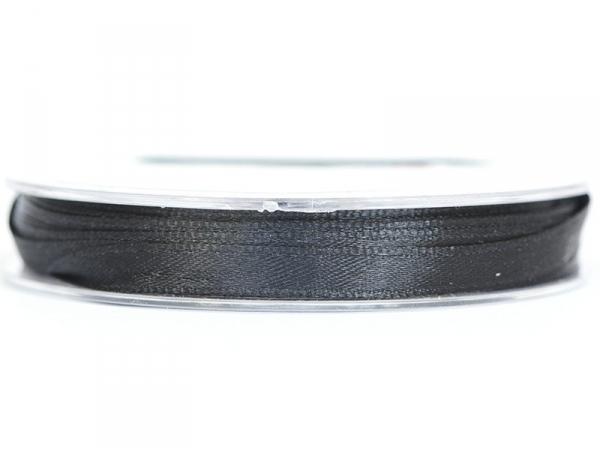 Acheter Bobine de ruban satin uni noir - 7 mm - 1,99€ en ligne sur La Petite Epicerie - 100% Loisirs créatifs