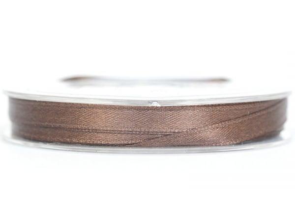 Acheter Bobine de ruban satin uni marron - 7 mm - 1,99€ en ligne sur La Petite Epicerie - Loisirs créatifs