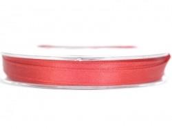 Einfarbiges Satinband (7 mm) - kirschrot