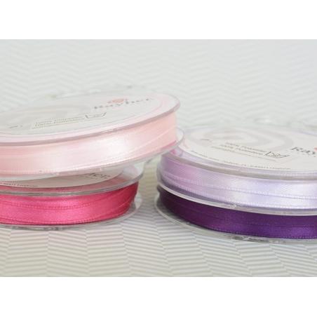 Acheter Bobine de ruban satin uni rose - 7 mm - 1,99€ en ligne sur La Petite Epicerie - 100% Loisirs créatifs