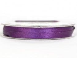 Satin ribbon (7 mm) - violet