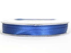 Satin ribbon (7 mm) - royal blue