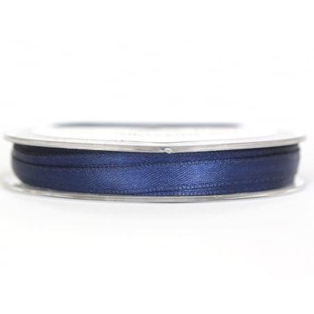 Acheter Bobine de ruban satin uni marine - 7 mm - 1,99€ en ligne sur La Petite Epicerie - 100% Loisirs créatifs