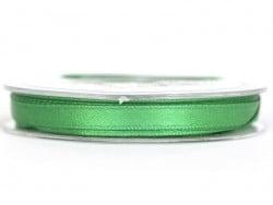 Einfarbiges Satinband (7 mm) - dunkelgrün