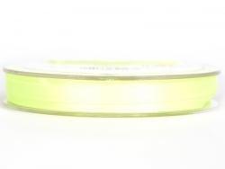 Ruban satin uni vert clair - 7 mm
