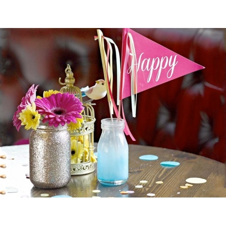 Acheter Mini Bouteille de lait en verre - rétro bleue Tie & Die - 3,80€ en ligne sur La Petite Epicerie - 100% Loisirs créatifs