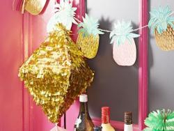 Piñata dorée à garnir