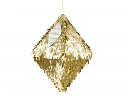 Customisable golden piñata