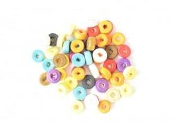 Acheter 50 perles en bois vernis - Rondelle 8 mm - 0,69€ en ligne sur La Petite Epicerie - 100% Loisirs créatifs