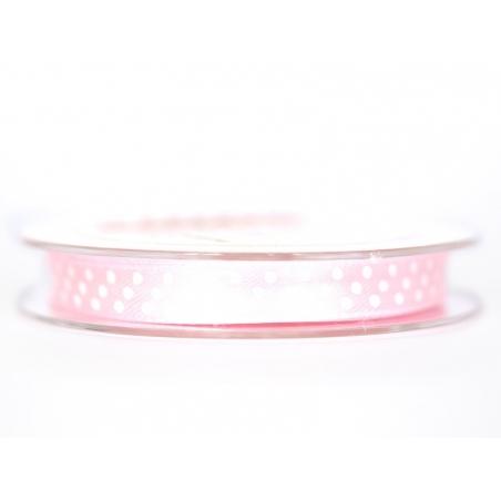 Acheter Bobine de ruban satin à pois - rose clair - 3,40€ en ligne sur La Petite Epicerie - 100% Loisirs créatifs