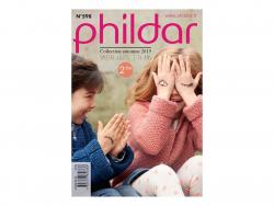 Mini magazine - children's clothes- Phildar no. 598 (in French)