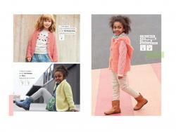 Mini Zeitschrift - Kinderkleidung - Phildar Nr. 598 (auf Französisch)