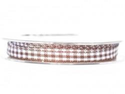 Acheter Bobine de ruban vichy - marron foncé - 4,75€ en ligne sur La Petite Epicerie - 100% Loisirs créatifs