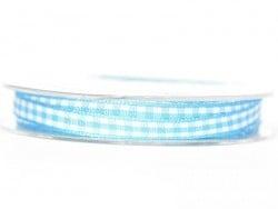 Acheter Bobine de ruban vichy - turquoise - 4,75€ en ligne sur La Petite Epicerie - 100% Loisirs créatifs