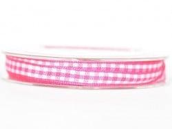 Acheter Bobine de ruban vichy - rose foncé - 4,75€ en ligne sur La Petite Epicerie - 100% Loisirs créatifs