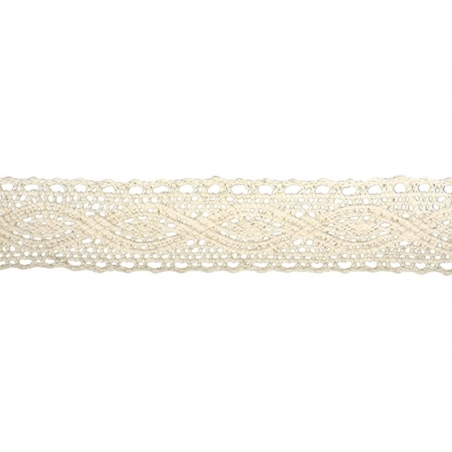 "Lace ribbon spool - ""Cassandra"" - off-white"