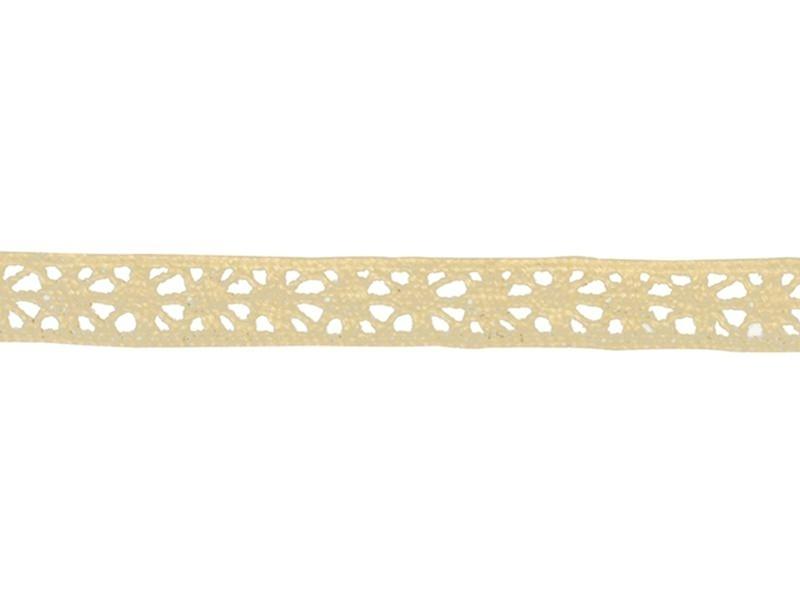 """Lace ribbon spool - """"Lorena"""" - off-white"""