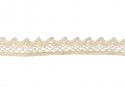 "Lace ribbon spool - ""Jasmina"" - off-white"
