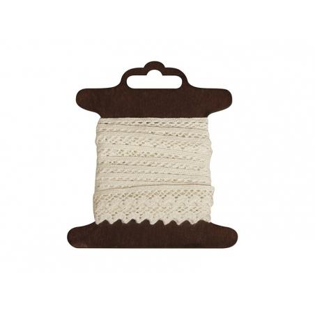 """Acheter Bobine de ruban de dentelle - """"Jasmina"""" écru - 3,60€ en ligne sur La Petite Epicerie - 100% Loisirs créatifs"""