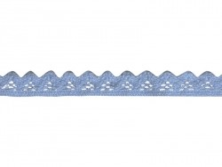 "Lace ribbon spool - ""Jasmina"" - blue"