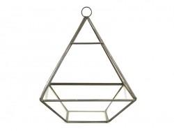 Pyramidenförmiges Terrarium