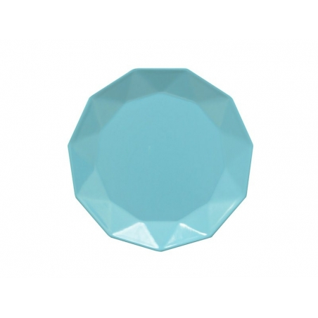 Assiette en melamine - Bleu Present Time - 1