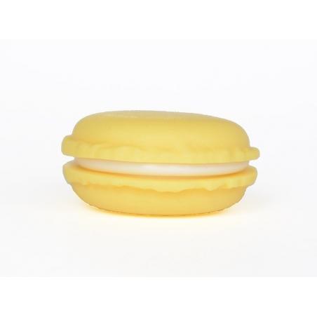 Boite macaron - jaune