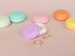 Boite macaron - violet