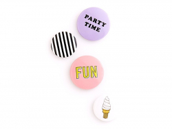 4 badges - fun