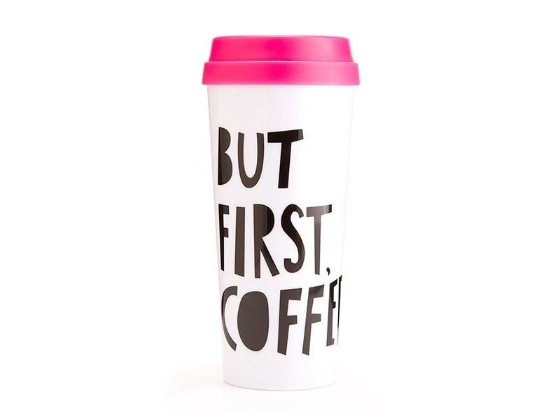 """Acheter Mug isotherme """"But first, coffee"""" - 14,90€ en ligne sur La Petite Epicerie - 100% Loisirs créatifs"""