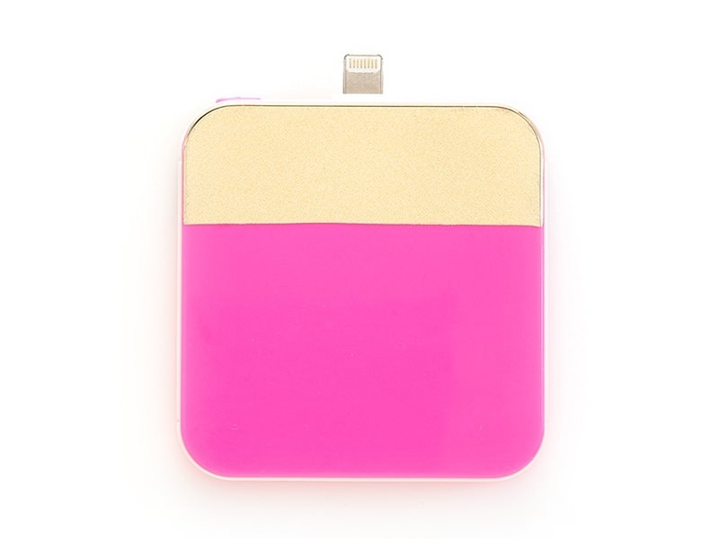 Batterie chargeur d'Iphone 5/6 - rose fluo Ban.do - 1