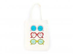 Jutebeutel / Stofftasche - Sonnenbrille