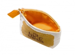 Small pouch - It's nice to be nice""