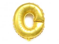 1 ballon alphabet doré 40 cm - lettre O  - 1