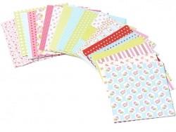 100 papier origami motifs fleuris Toga - 1