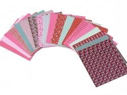 100 papier origami motifs japonais Toga - 1