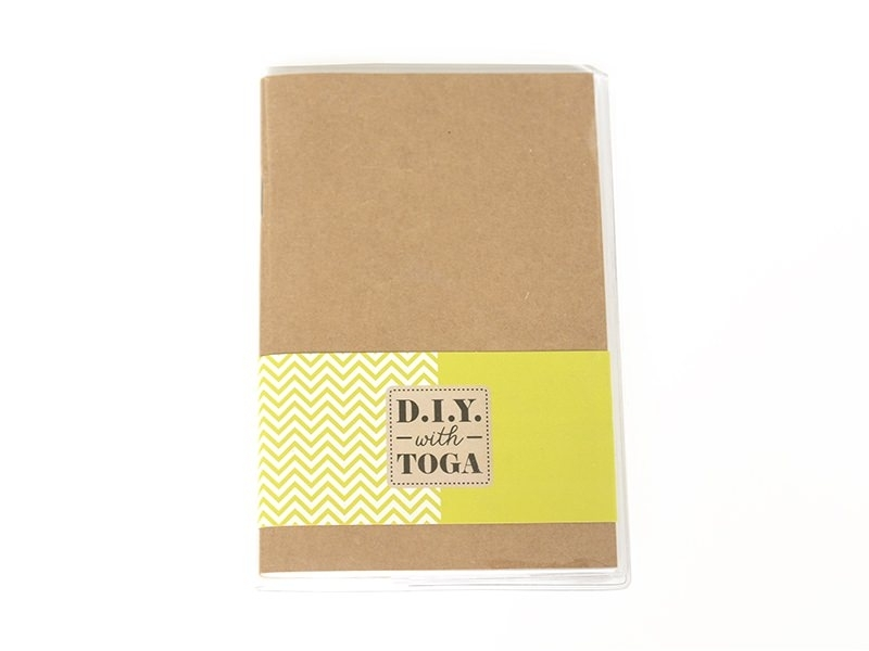 TOGA notebook that can be decorated, 80 pages - 10 cm x 15 cm