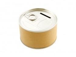 Tirelire boite de conserve  Toga - 1