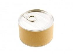 Emballage cadeau petite boite de conserve